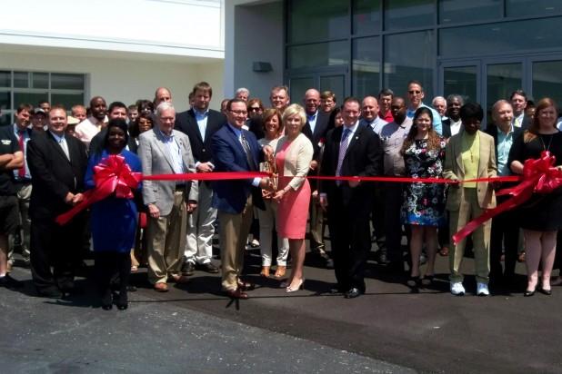 Kinston North Carolina NC Chamber of Commerce Ribbon Cutting