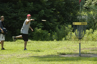 Disc Golf at Barnet Park