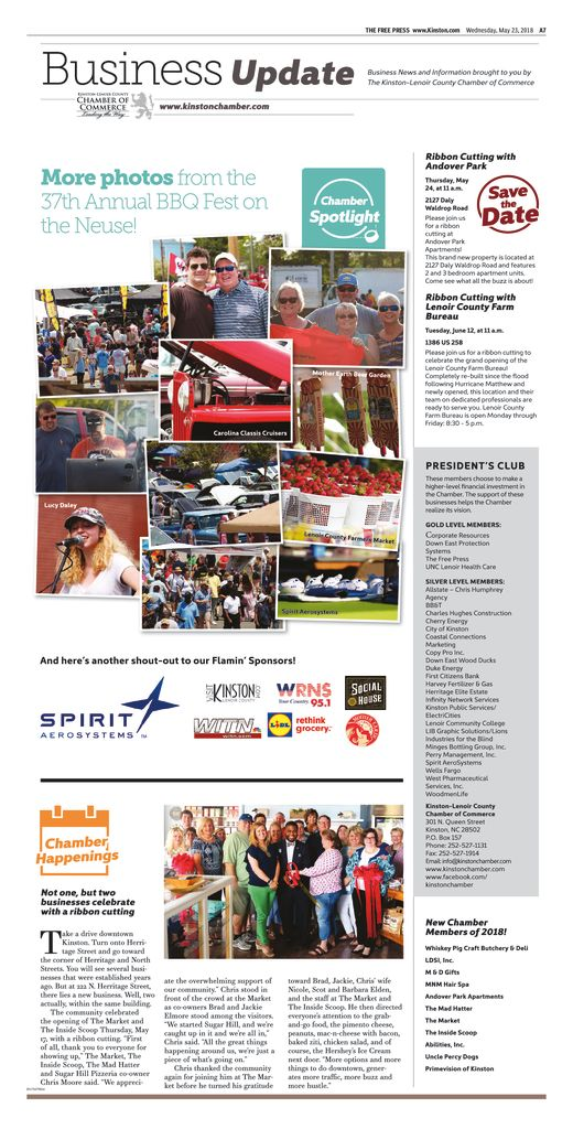 thumbnail of Chamber Newsletter 5-23-18