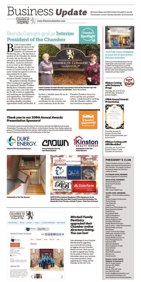 thumbnail of Kinston Chamber Page 1-9-19